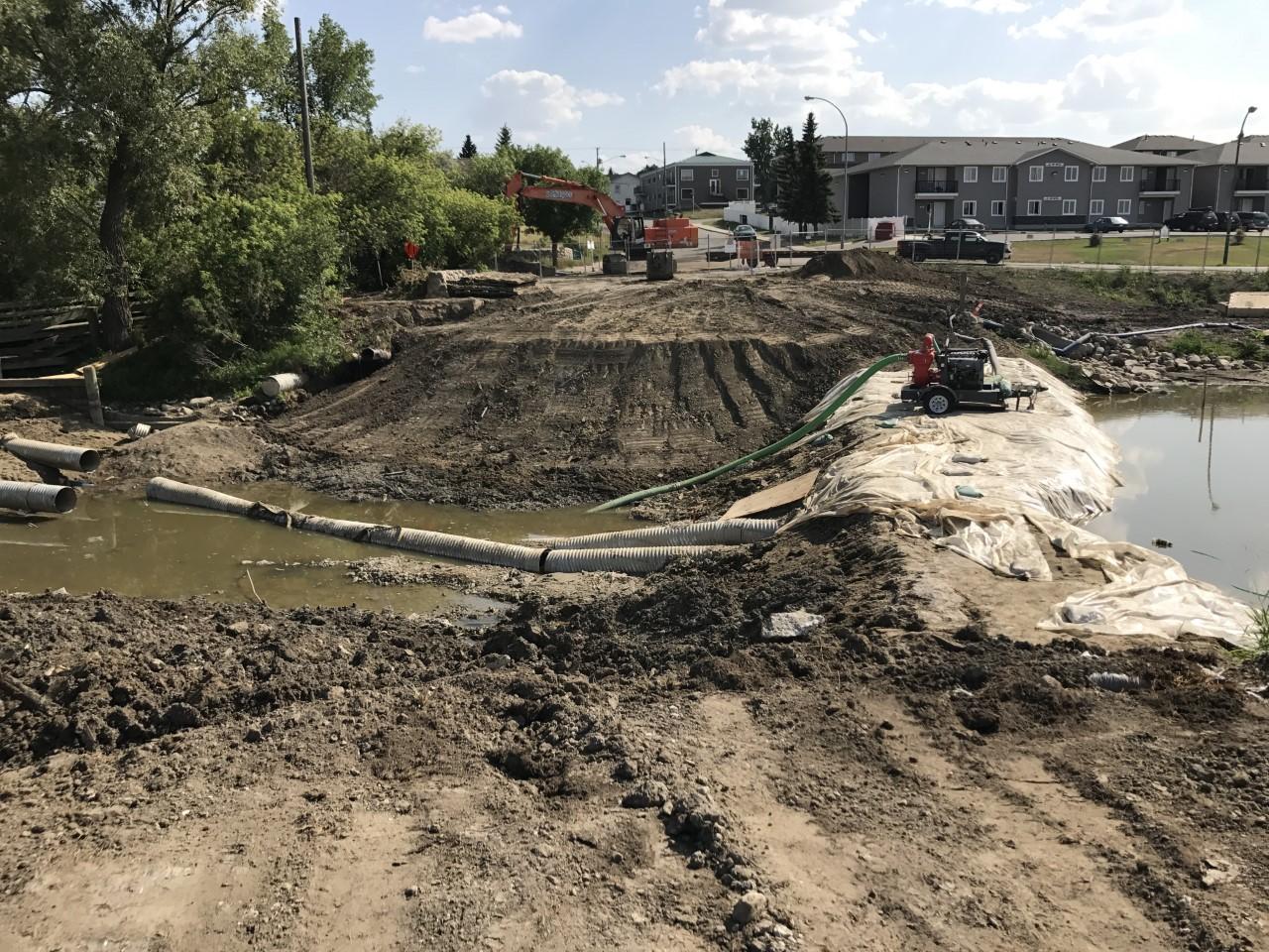 Moose Jaw SK – Bridge Demolition