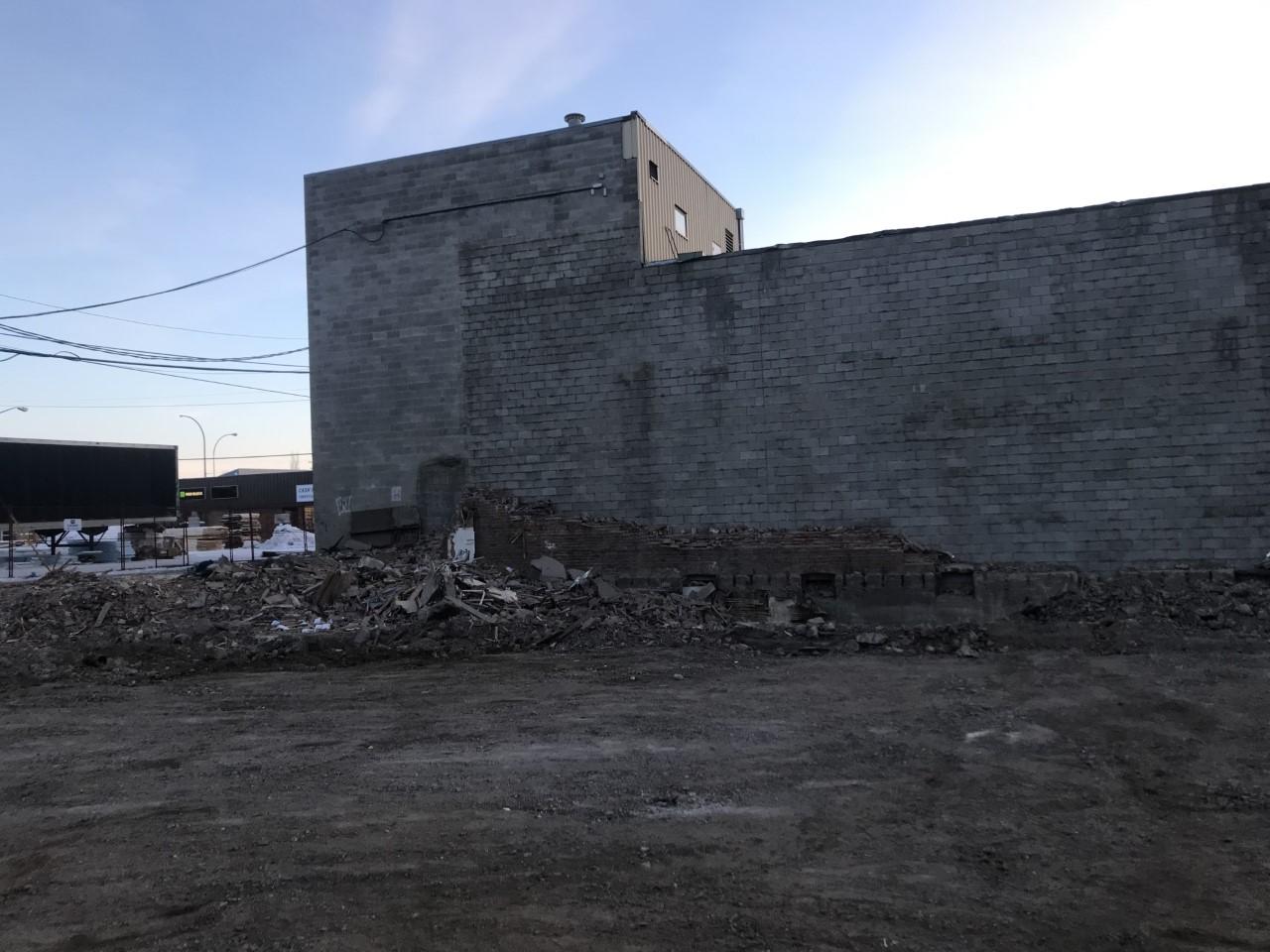 North Battleford SK – Steakhouse Building Demolition