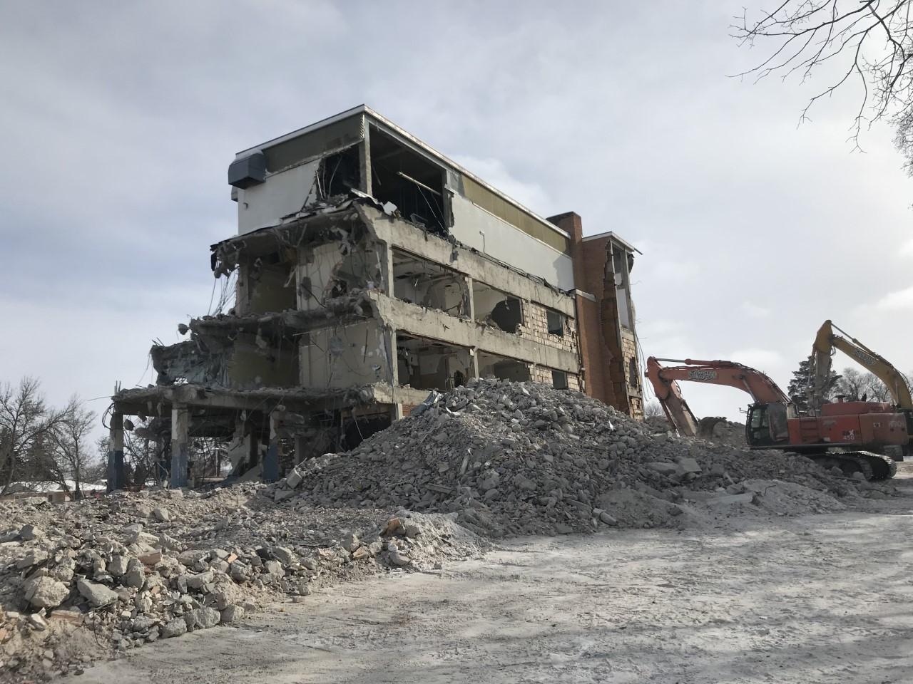 Palliser Regional Care Centre Swift Current, SK Demolition