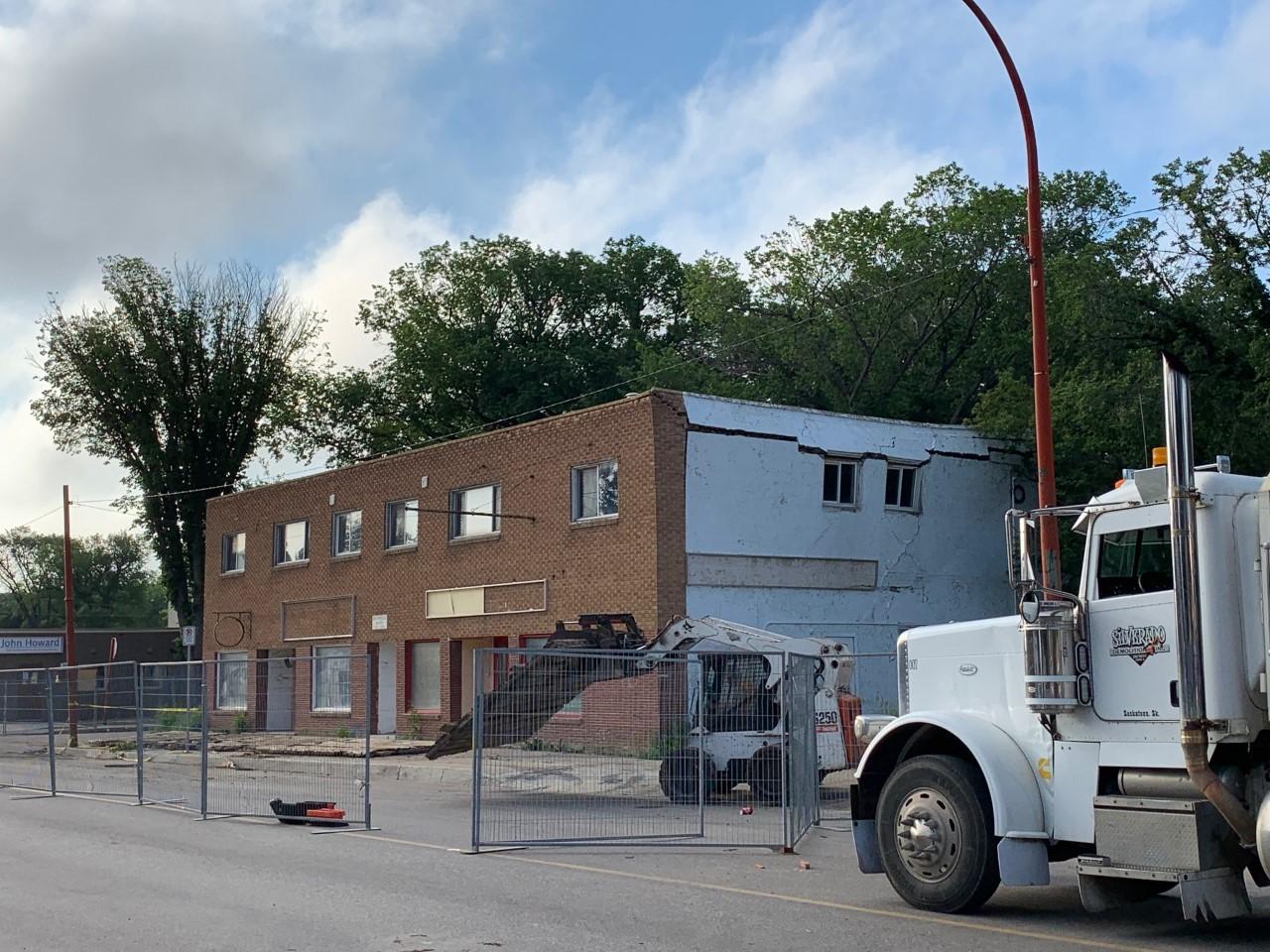 Unstable Building – 11th Avenue & Toronto Street Regina, SK
