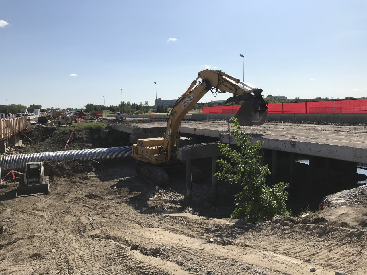 Ring Road Bridge Demolition – Regina, SK