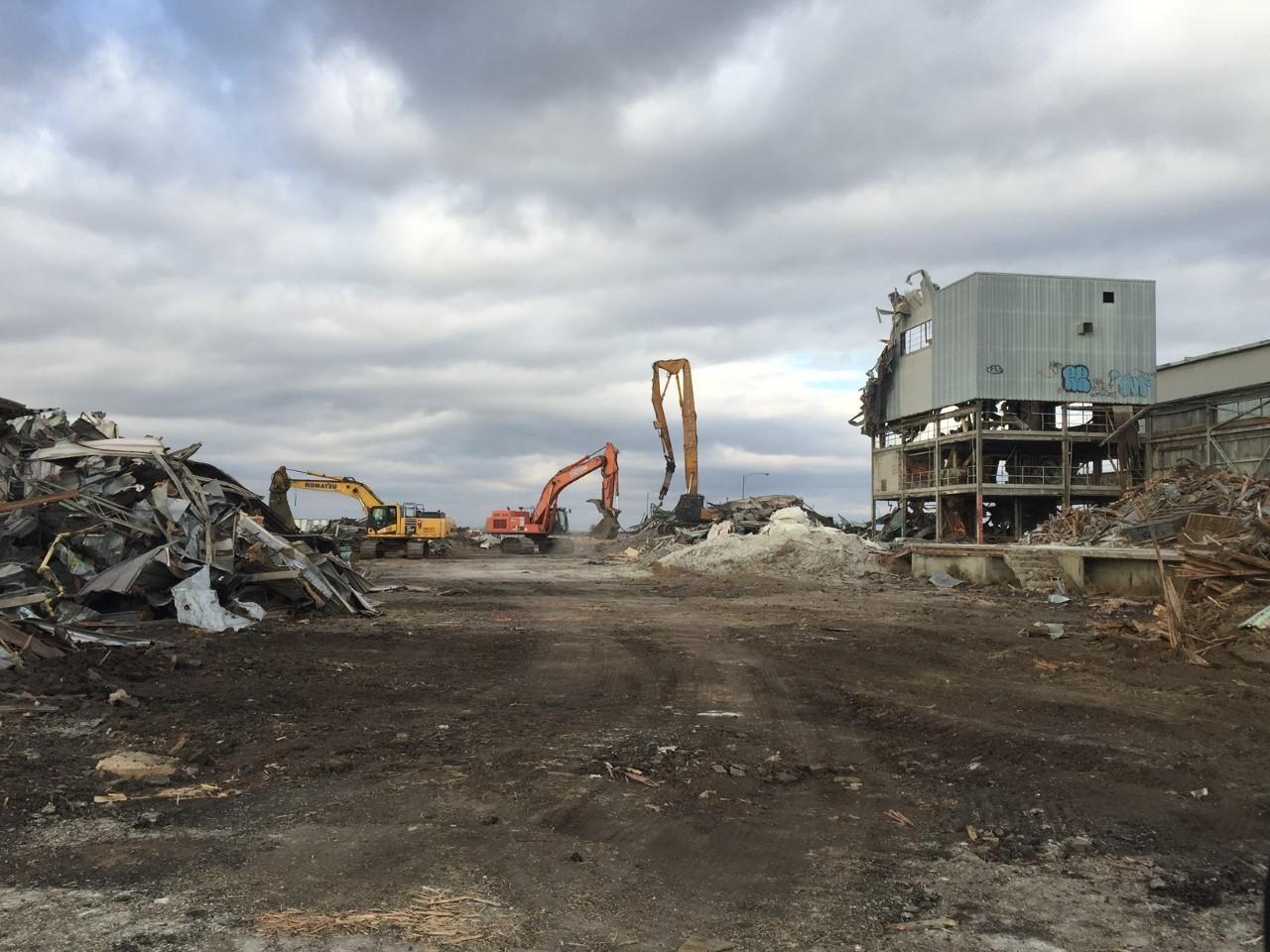 Cominco Fertilizer Plant Demolition Project 2019
