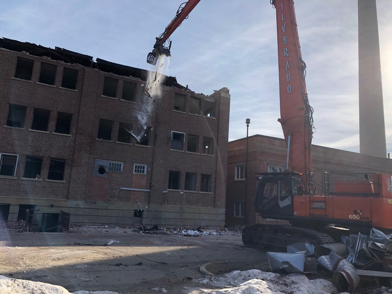 Old Saskatchewan Hospital Project, Industrial Therapy & EMO Structures – North Battleford, SK