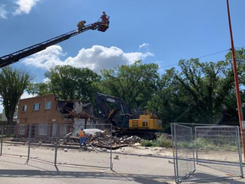 Demolition Ongoing