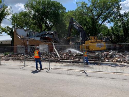 Demolition Progresses